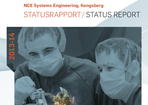 NCE Systems Engineering, årsrapport
