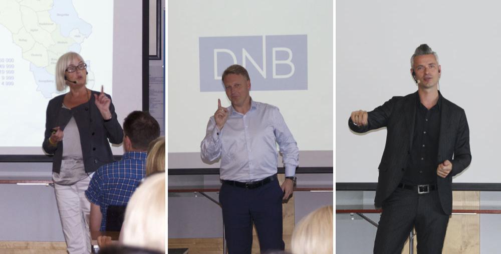 Foredragsholdere under Næringslivsdagen. Foto: NCE SE/Elin Svilaas