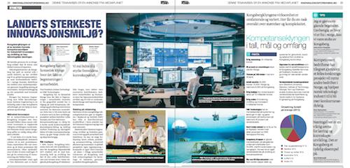 Artikkel om Kongsbergklyngen i Innovasjon og Forskning