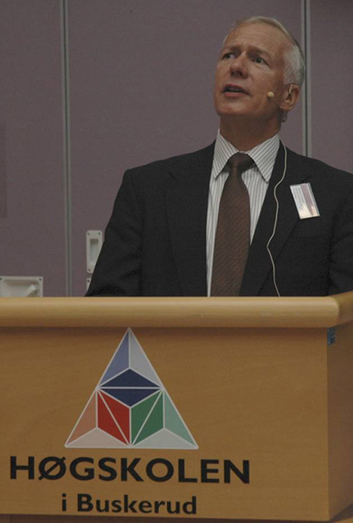 Professor Michael Pennotti p&#229; KSEE 2009