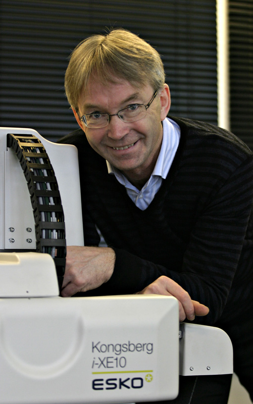 Emil Skarra, Esko-Graphics Kongsberg. Foto: Bj&#248;rn-Owe Holmberg