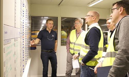 Lean Board Room Kongsberg Automotive