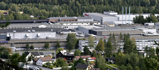 Kongsberg Teknologipark. Foto: Bj&#248;rn-Owe Holmberg