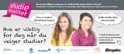 Studiekvalitet.no
