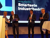 GKN Aerospace kåret til Norges smarteste industribedrift