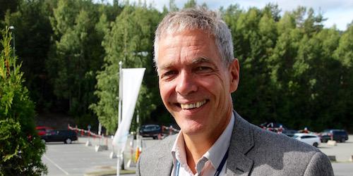 Innovasjonsdirektør Sverre Gotaas er engasjert i Toppindustrisenteret på Kongsberg