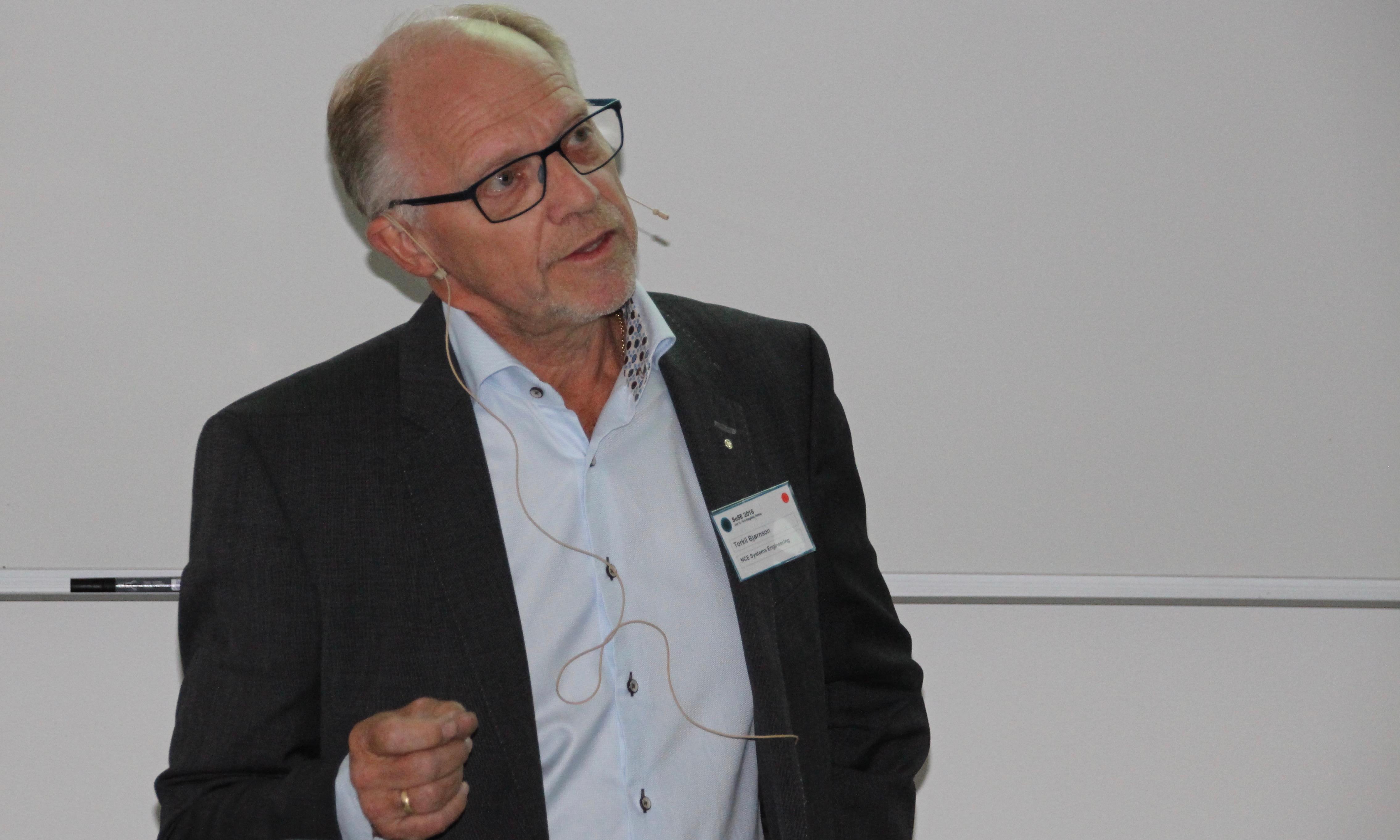 Torkil Bjørnson daglig leder NCE Systems Engineering