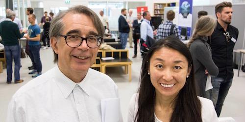 Leif Næss og Yang Yang Zhao. Foto: HSN
